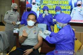 Polda Sumbar targetkan 10.441 personel kepolisian divaksin