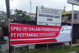 Pertamina sanksi lima SPBU di Pekanbaru langgar ketentuan penyaluran premium
