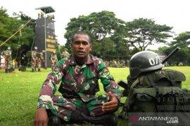 Pemain sepakbola AC Milan junior bergabung prajurit TNI AD