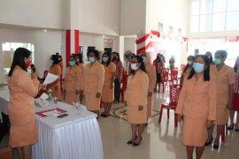 DWP Minahasa Tenggara kukuhkan sejumlah pengurus di OPD