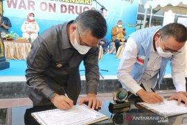 BNN Sultra dan Pemkot Kendari deklarasikan empat kelurahan bersinar
