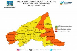 Dinkes: Sudah tidak ada kecamatan di Sleman yang zona merah