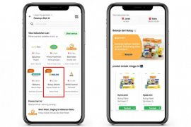 Novita: Produk pangan Bulog bisa dibeli di GoMart