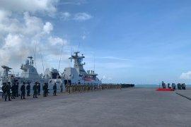 Panglima TNI lepas Satgas MTF TNI KontiNgen Garuda XXVII M menuju Libanon
