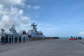 Panglima TNI lepas Satgas MTF Kontingen Garuda XXVII M ke Libanon