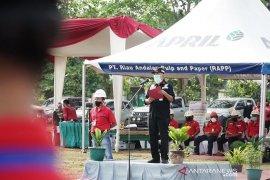 Wujudkan pembangunan SDM, PT RAPP proaktif hadapi perubahan dan tantangan baru