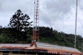 Telkomsel-Kominfo mengintegrasikan Palapa Ring Timur di Pegunungan Bintang