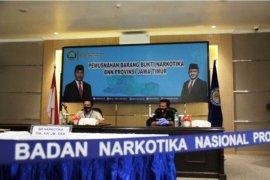 BNN Jatim jelaskan kronologi massa hadang  penangkapan bandar narkoba