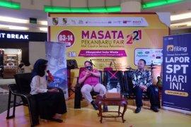 Di Masata Pekanbaru Fair 2021, DJP Riau kupas perpajakan di dunia pariwisata
