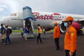 Pesawat Batik Air Jambi-Jakarta terpaksa mendarat kembali di Jambi karena indikator nyala