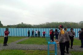 Lapangan tembak Polres Dharmasraya diresmikan