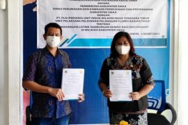 Pemkab Sikka bantu sambung listrik gratis bagi 1.115 KK