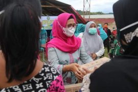 BKMT Sulbar bantu pengungsi gempa di Mamuju