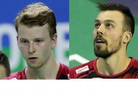 Pasangan gaek Denmark rebut ganda putra Swiss Open 2021