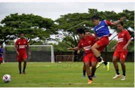 Latihan perdana PSM Makassar Jelang Piala Menpora