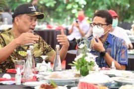 Gubernur Sulut apresiasi Menparekraf  tingkatkan infrastruktur pariwisata
