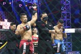 Hendrik Tarigan mengincar gelar juara kelas lightweight One Pride MMA