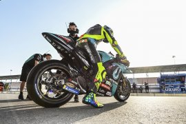 Rossi awali debut  baru  bersama Petronas