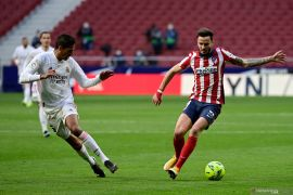 Liga Spanyol-Derbi Madrid berakhir imbang 1-1