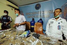 BNN Papua Barat gagalkan penyelundupan 6 kg ganja menuju Sorong