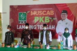Bupati dan Wakil Bupati hadiri muscab DPC PKB Lampung Tengah