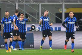 Inter kokoh di puncak klasemen usai taklukan Atalanta