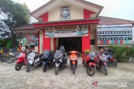 Polres Bintan amakan motor bodong di Tambelan
