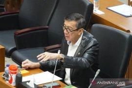 Menkumham Yasonna Laoly nyatakan pemerintah sepakat cabut RUU Pemilu
