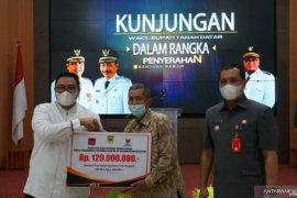 60 KK perantau Tanah Datar di Kalimantan Selatan terima bantuan Rp129 juta rupiah