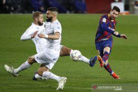 Messi cetak dwigol dalam kemenangan Barca atas SD Huesca