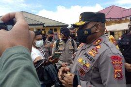 Kapolda Papua cek penanganan korupsi Sentra Pendidikan kabupaten Mimika
