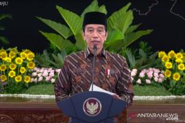Presiden: banyak kader HMI di Kabinet Indonesia Maju