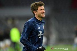 Thomas Mueller gembira Bayern bakal ulangi laga final kontra PSG