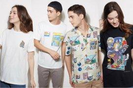 Label fesyen The Executive kolaborasi bareng ilustrator dari Yogyakarta