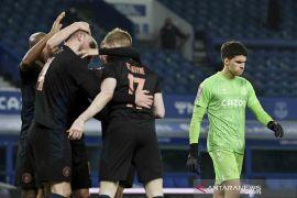 Manchester City lolos ke Semi Final FA Cup usai bungkam Everton 2-0