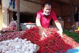 Harga komoditas di Pasar Raya Padang relatif stabil jelang Ramadhan
