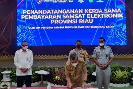 Mudahkan pembayaran pajak kendaraan, Bank Riau buka layanan E-Channel
