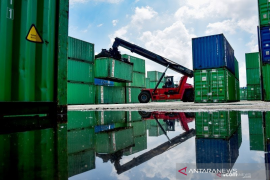 Ekspor Riau menurun 10,46 persen pada April