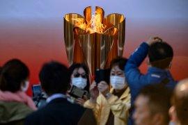Angka-angka unik dalam kirab Obor Olimpiade Tokyo