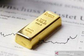 Emas tergelincir pada akhir perdagangan Rabu