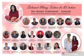 Syukur HUT ke-85 tahun ibunda Bupati Minahasa Tenggara