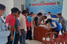 BNN gelar tes urine bagi pegawai rutan dan narapidana  Rutan Lampung Utara