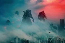 Pertarungan dahsyat Godzilla lawan Kong
