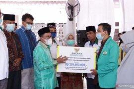 Baznas Tanah Datar salurkan dana pendidikan Rp219 juta