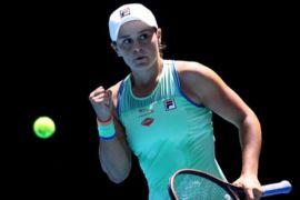 Barty atasi Azarenka menuju perempat final Miami Open 2021