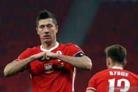 Polandia dipastikan tanpa Lewandowski lawan Inggris karena cedera