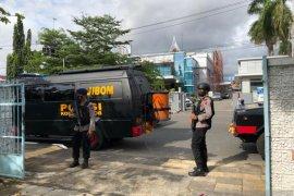 Tim Jibom Polda Sumbar periksa keamanan di sejumlah gereja di Padang