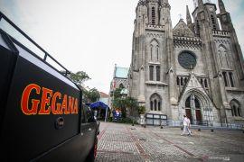 Polda Metro imbau jemaat tidak membawa tas saat ke gereja