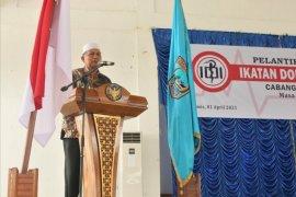 Bupati Hamsuardi : Dokter harus ramah layani pasien