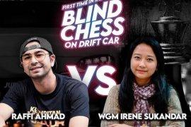 Rekor MURI, duel catur Irene Sukandar vs Raffi Ahmad